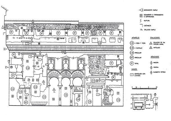 Análisis tipológico y constructivo del Patio del Yeso. Alcázar de Sevilla (Tabales, 2002)