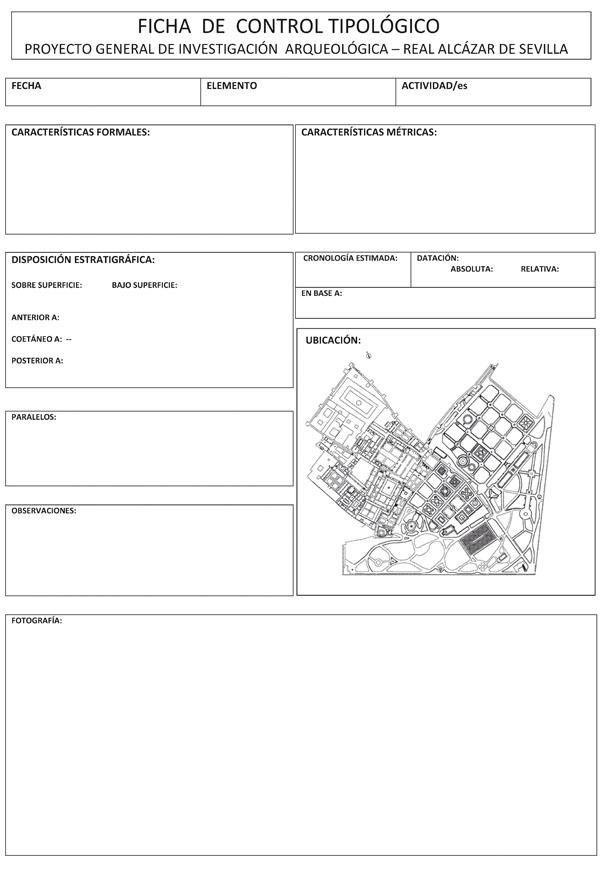 Ficha de registro tipológico empleada para la caracterización de cada técnica constructiva (Tabales, 2002)