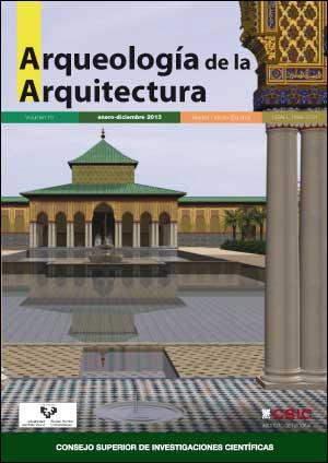 Imagen de cubierta: Palacio de al Badi', Marrakech, alberca y pabellón oriental, según A. Almagro, M. González y L. Berenguel